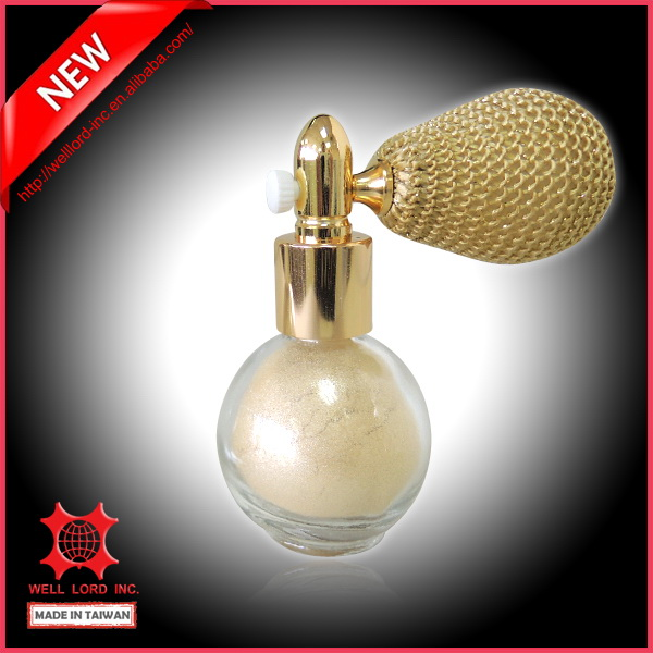 Glamour Pearl like bottle glitter powder perfume hair spray