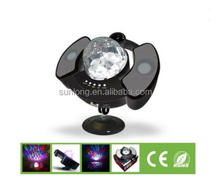 indoor holiday celebrate music activated led disco lights