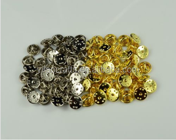 Gold & Silver Colour Pin Backs Lapel Pin Butterfly Clasp Pinback Clutch  Clasp - Buy Flower Lapel Pins,Flower Lapel Pins,Flower Lapel Pins Product  on