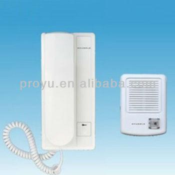 Home Security 2 Wire Connection Audio Door Bell Phone Kit House Door
