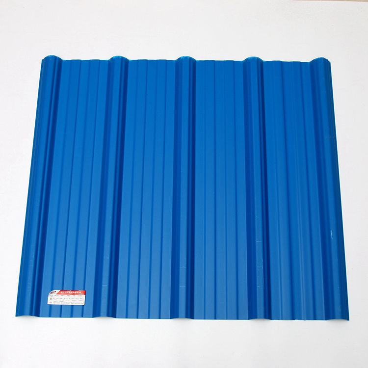 Light Weight Upvc Plastic Trapezoid Corrugated Roofing