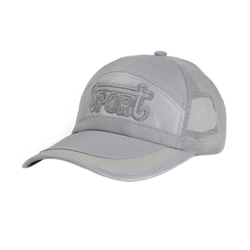 Get Quotations · Men s Flexfit Hats Fitted Cap Sports Caps Outdoor Sports Flexfit  Hats Mesh Gray c7e0bb809dd4