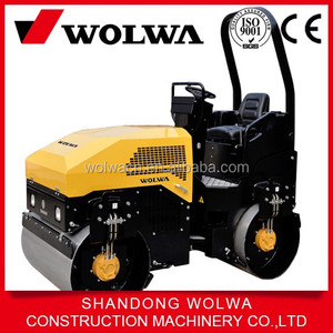 1 ton compactor vibratory roller from china manufacturer