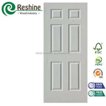 White Primer Mdf Flush Panel Doors