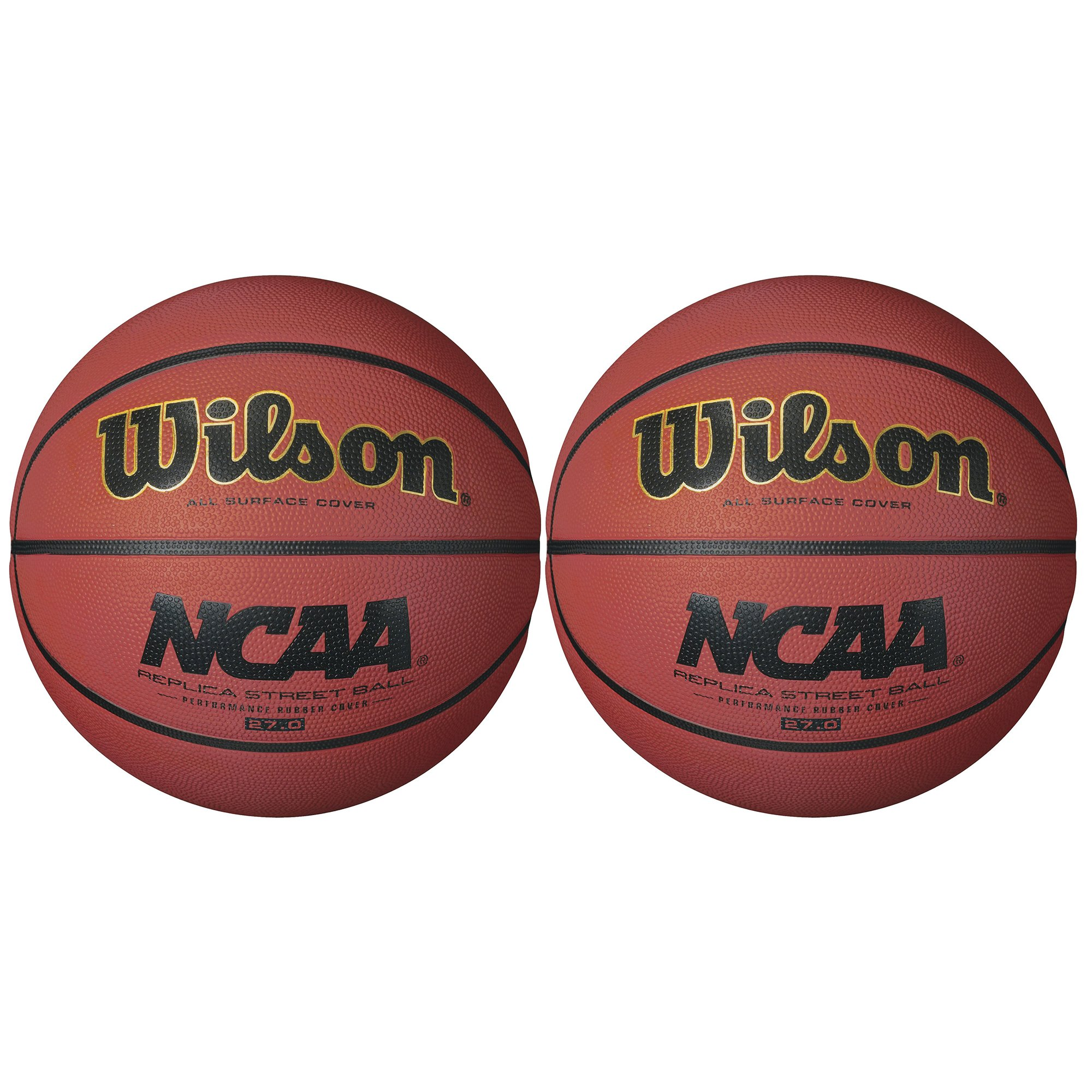 573a153616c Get Quotations · Wilson NCAA Size Replica Youth 27.5