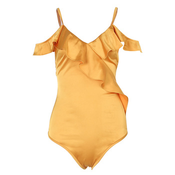 Z94875B vrouwen zomer hot golvend kant riem sexy jumpsuit