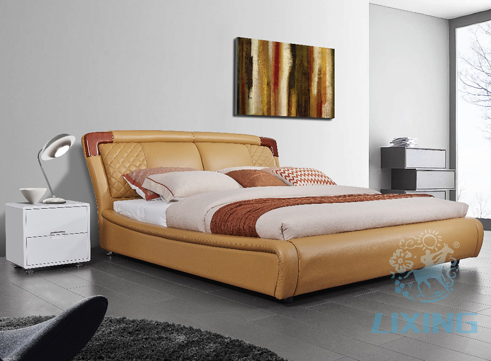 Top Selling Bed Frame New Model Indonesian Bedroom Furniture