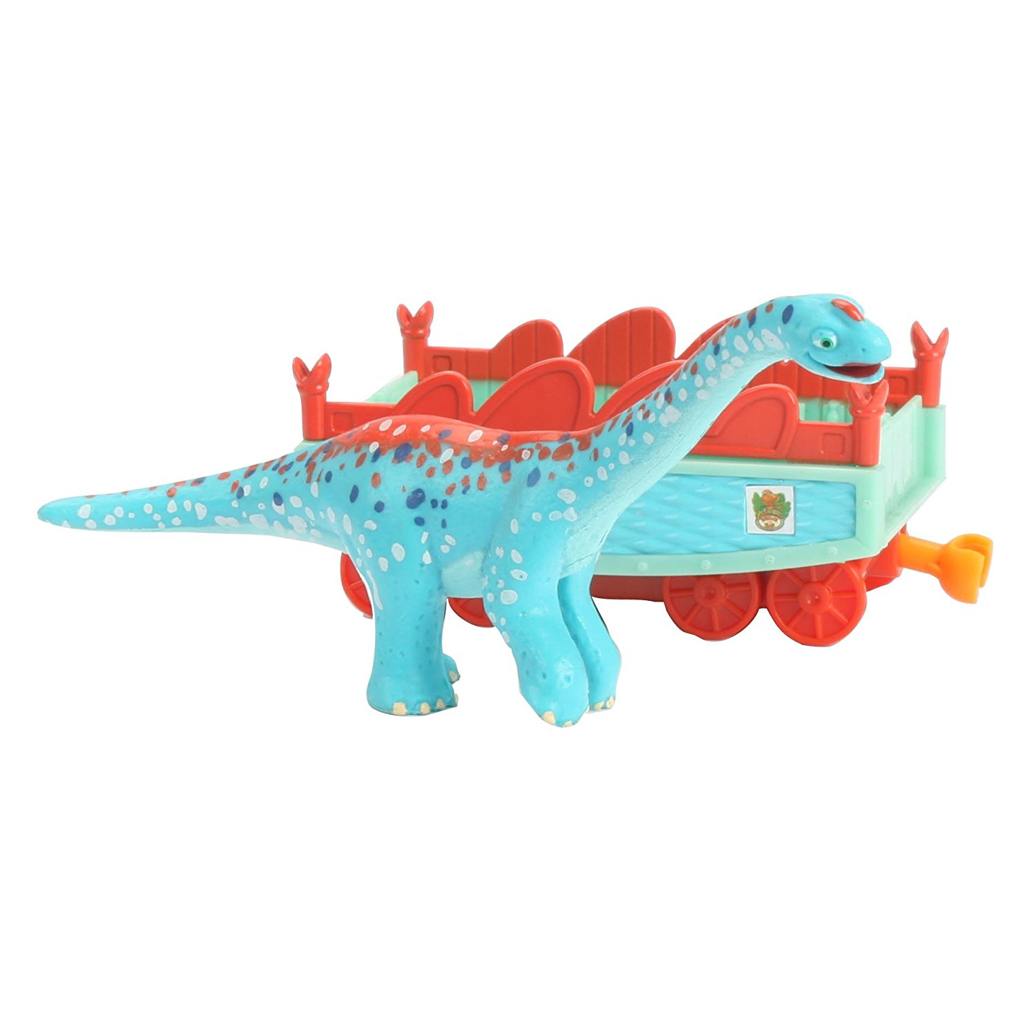 Learning Curve Dinosaur Train Collectible Dinosaur With Train Car - My Friends Are Quadrapeds: Arnie