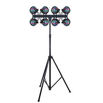 2019 New DJ Lighting 72*1W RGBW LED Flat Par Light Can Set