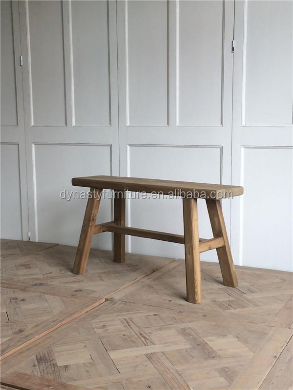 Venta al por mayor taburete antiguo madera-Compre online los mejores ...
