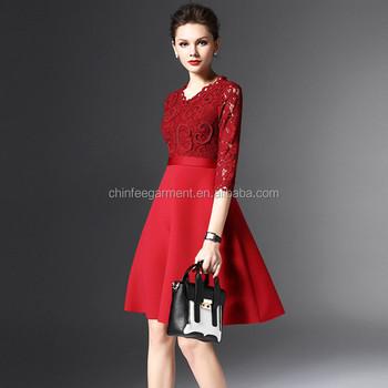 Model Evening Wear