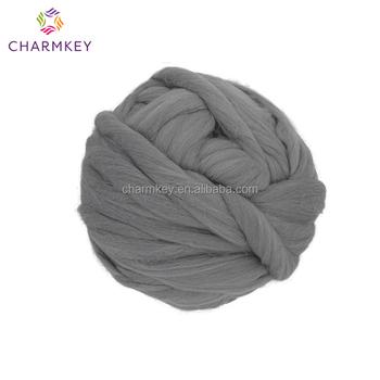 Arm Knitting Yarn Super Chunky Thick Merino Wool Yarn Wholesale