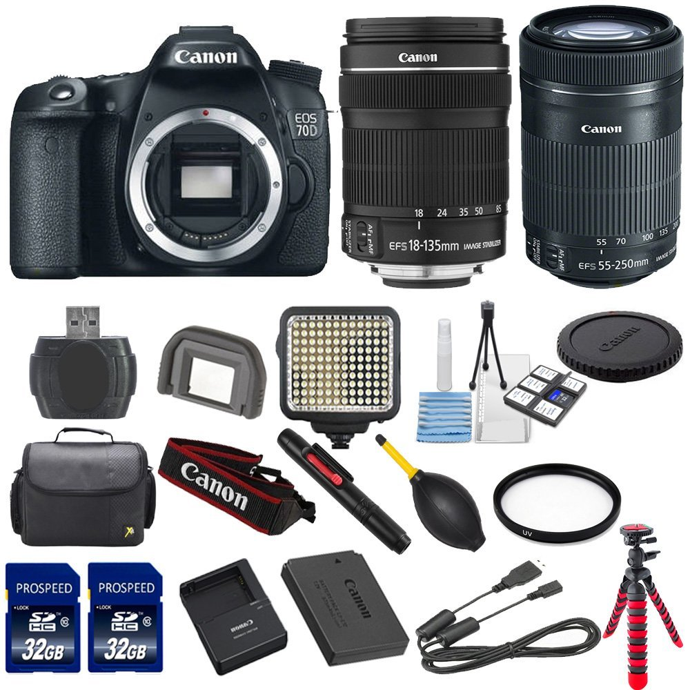 Microfiber Cleaning Cloth + Lens Hood UV-CPL-FLD Lens Cleaning Pen Lens Pouch No Warranty 9PC Accessory Kit Includes 3 Piece Filter Kit Lens Cap /& Keeper Canon EF-S 55-250mm F4-5.6 IS STM Lens for Canon SLR Cameras International Version