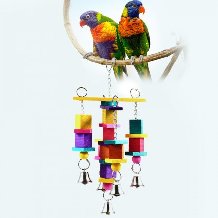 CHAIN WATERFALL BIRD TOY parrot cage toys cages African grey conure amazon