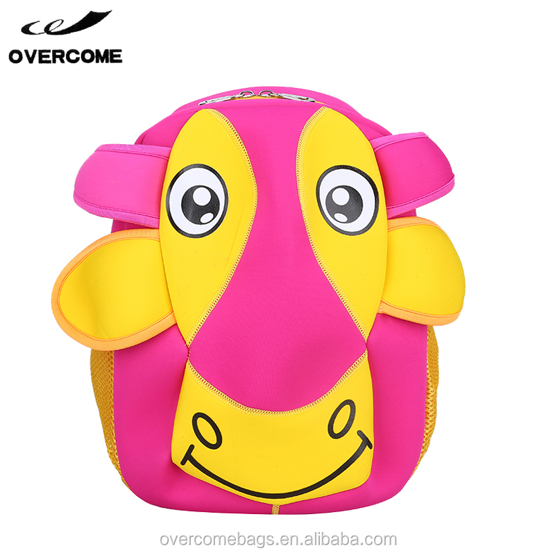Hot Sale Custom Logo Customized Kids Backpack Zoo Packs