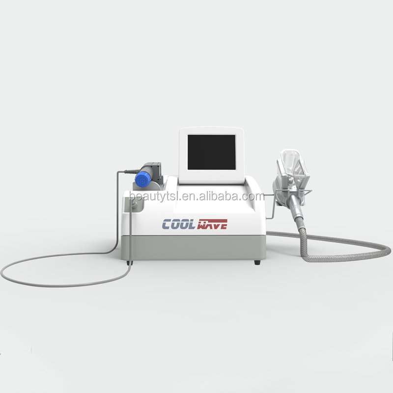 Lingmei shock wave therapy cryolipo fat belly burning cryolipolysis 4 handles available cool wave machine
