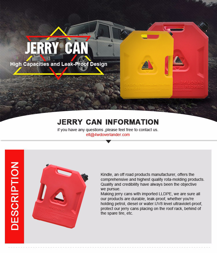 Atv jerry can 54 truck tool box