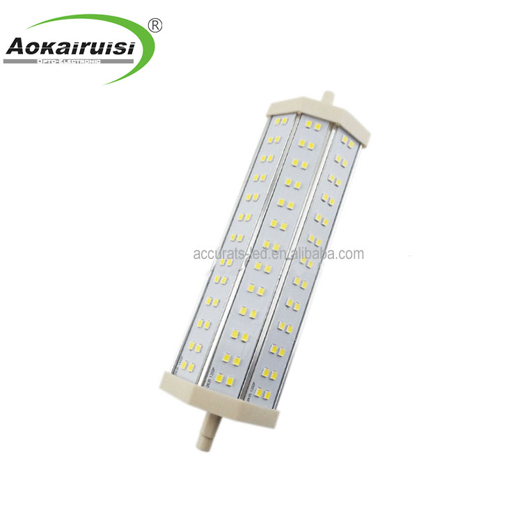 30w 118mm r7s led r7s sostituzione lampada alogena 400w led 110V 220V SMD2835 r7s 13W dimmerabile R7S LED