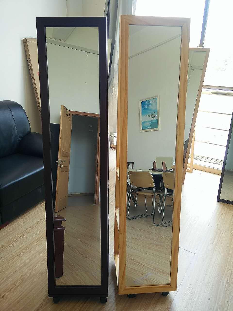 De Almacenamiento De Pie Muebles Espejo Con Ruedas Buy Product  # Muebles Para Nivel Inicial