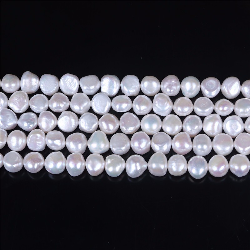 Cultured Side Drilled Natural Pearl Loose Strand