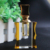 wholesale crystal black yellow bottle men's perfume perfume bottle refillable
