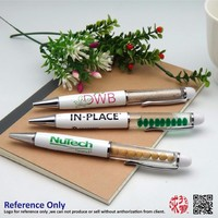 Hot selling Gift Logo customized promotional floating pen with logo