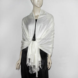 Pure color original stole best for women white scarf