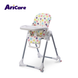 Best price foldable portable easy moving children's kids toddler eating baby dining chair with wheels