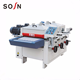 SOSN wood wire drawing machine for wood plastic Combination