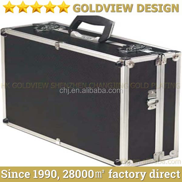 Hot saling aluminum alloy box,portable aluminum tool box,aluminum briefcase tool box