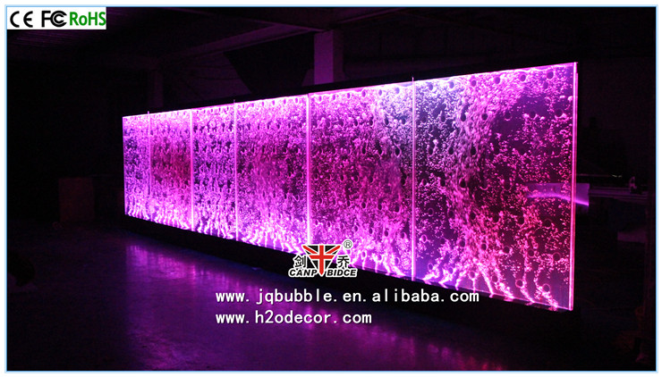 Public int rieur d coration murale led brillant acrylique danse mur bulle d - Decoration murale led ...