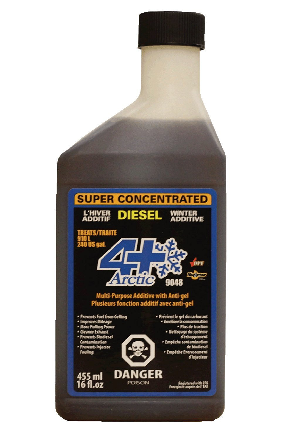 DSG DSCAP16 Diesel Fuel Additive - Arctic 16oz