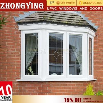 Upvc Type Gl Round Garden Bay Windows House For