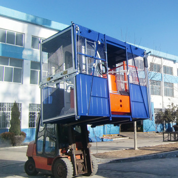 Xinyu hot sale 1t single cage construction electric winch hoist SC100