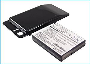 vintrons 2800mAh Battery For HTC Raider 4G LTE, Vivid, Holiday Extended with back cover,