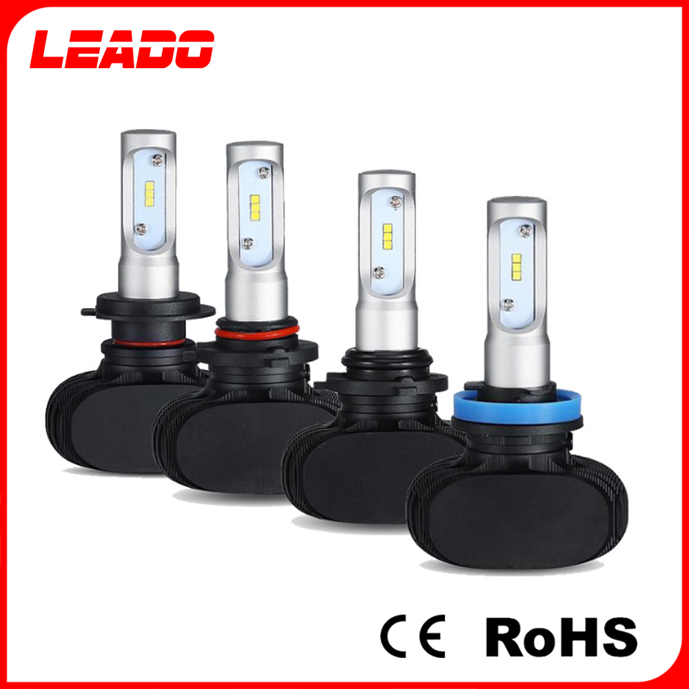 Wholesale high power H7 9005 HB4 H4 Led Car headlight bulbs for 4WD SUV auto parts