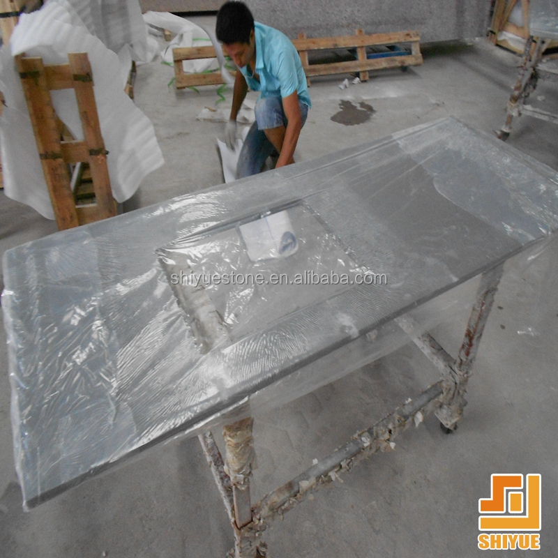 Hot sale Chinese artificial misty grey quartz stone manufacturers