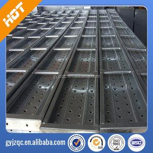 aluminum scaffolding metal plank/ decking for scaffolding system/  Galvanized Scaffolding Steel Plank