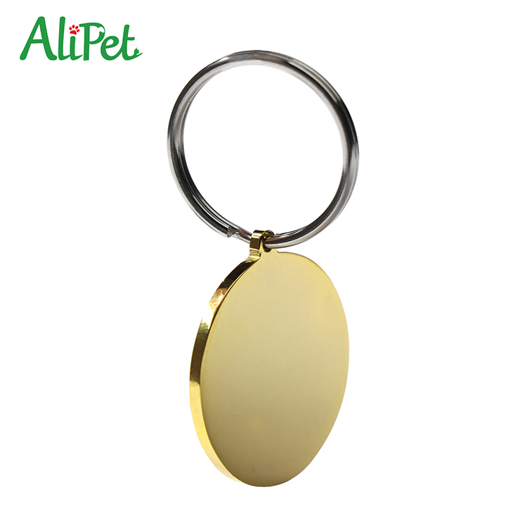 2018 Hot selling custom colorful stainless steel pet dog id tag