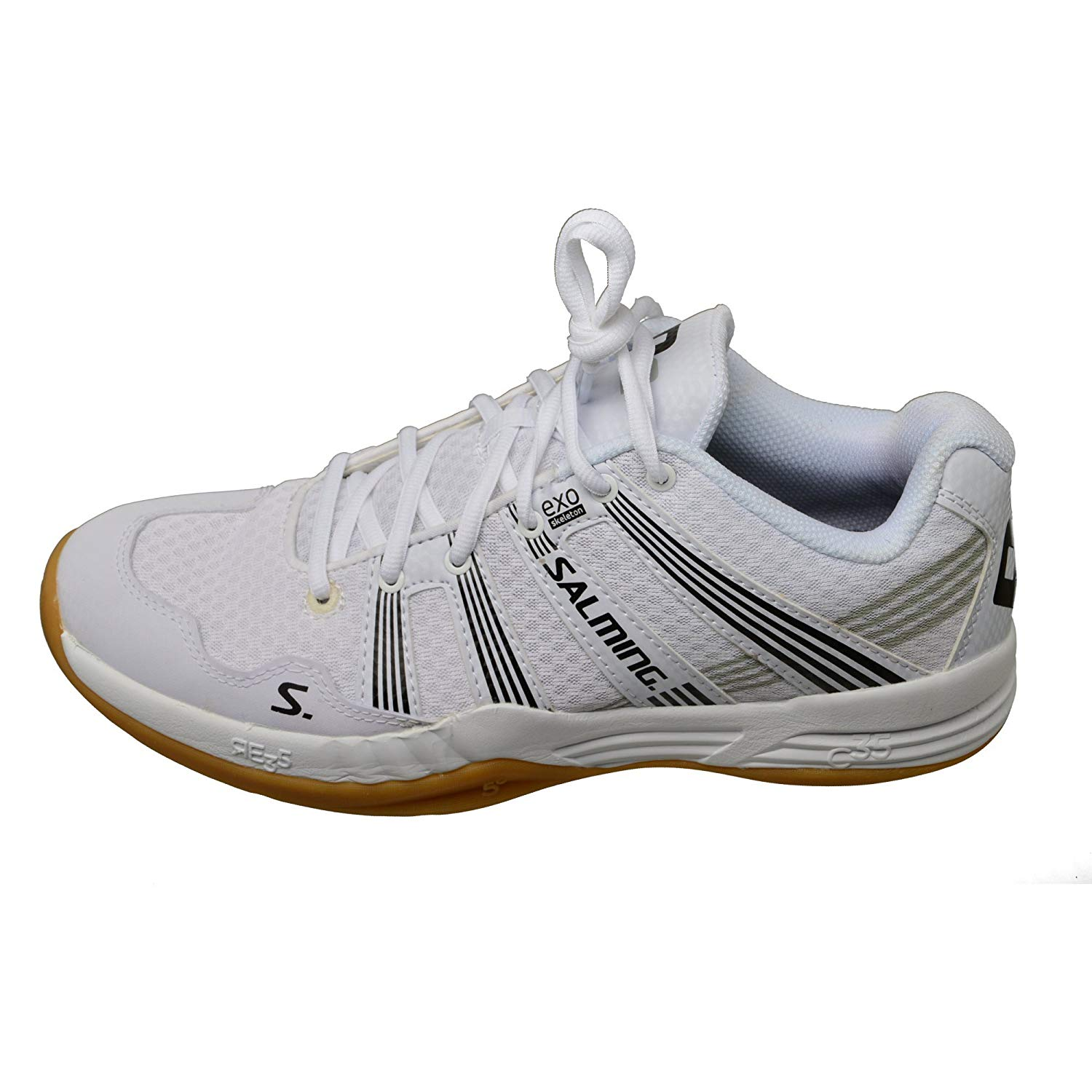 Salming Race R2 3.0 Mens White Court Shoes 11.5 US