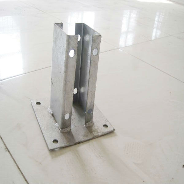 Galvanized Steel Square Wooden Posts Base