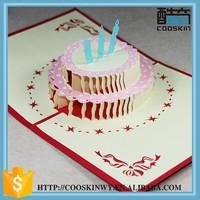 Top quality flame retardant make pop up 3d brithday cards