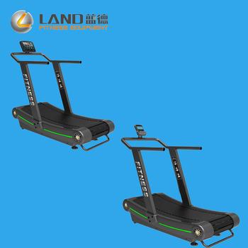 Land Fitness Tapis Roulant Commerciali Manuale Curva Tapis Roulant