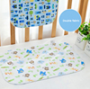 Waterproof Flannel and Bamboo Fabric Baby Changing Mat