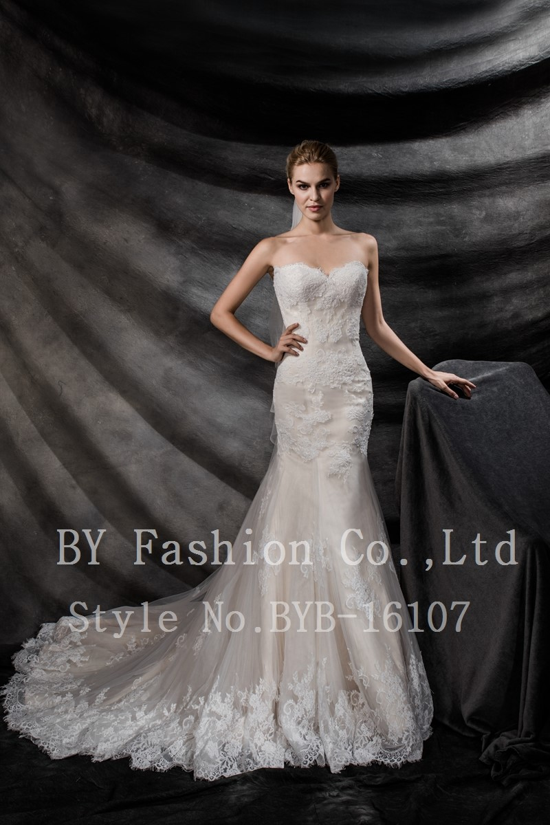 2018 New Designed Wedding Gown Beautiful Wedding Dress Bridal Gown ...
