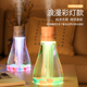 For korean 500ml big capacity mini usb air humidifier with led light