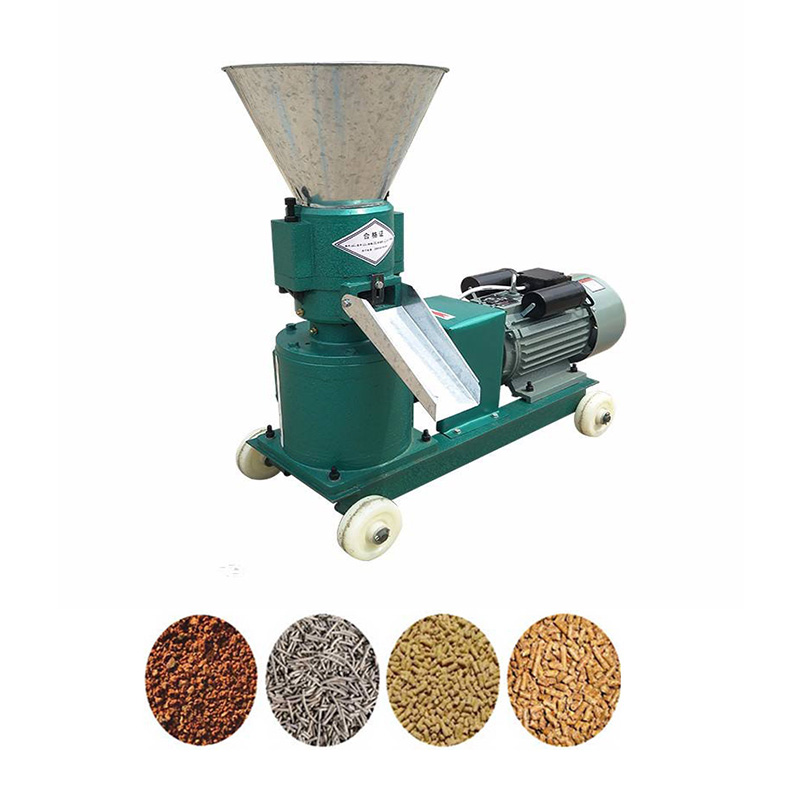 Hot sale farm use small scale feed granulator mill machine for pig chicken rabbit feed