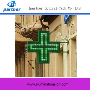 Hot Sale Led Pharmacy Cross Sign