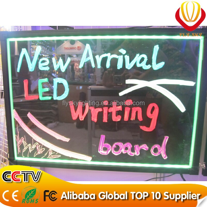 high quality and low price led writing board kids led writing board for shops advertising restaurant menu ALL COLORS LIGHTNESS