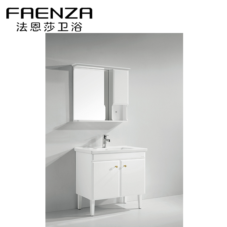 factory customized classic ready made bathroom vanities to assemble 42 free standing cabinets